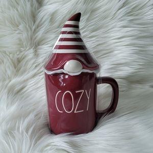 NEW Rae Dunn COZY Gnome Topper Mug